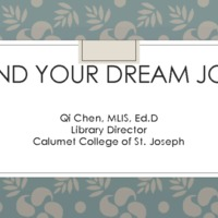 2016 CALA MW_Qi Chen_How to find your dream job.pdf