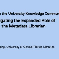 Diving into the university knowledge community: &lt;br /&gt;<br />